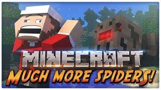 Minecraft MODS - Much More Spiders 1.12, 1.12.1 Y 1.12.2 TUTORIAL EN ESPAÑOL