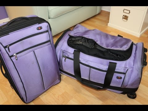 Pack with Me (Part 2): What's in My Checked Bag? / Travel Organization Tips