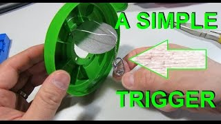 Simple and Effective Live Mouse Trap- THE HAIR TRIGGER- Video of it working!!!