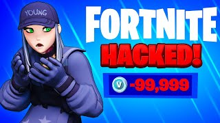 I HACKED My Twins UNLIMITED V-Buck Account