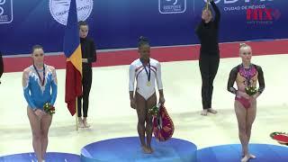 Se despide la gimnasta Catalina Ponor en el Abierto Mexicano de Gimnasia
