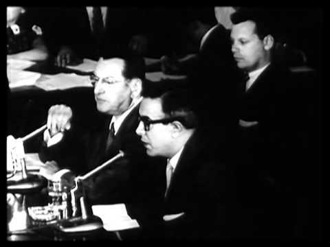 Johnny Dio takes the fifth amendment 1957