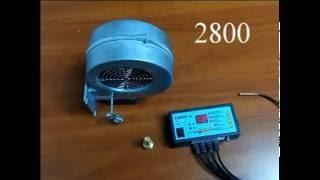 Твердотопливный котел Энергия Комфорт (обзор автоматики)
