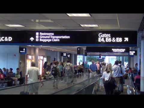 A Tour of Charlotte Douglas International Airport (CLT) -- 2013 footage