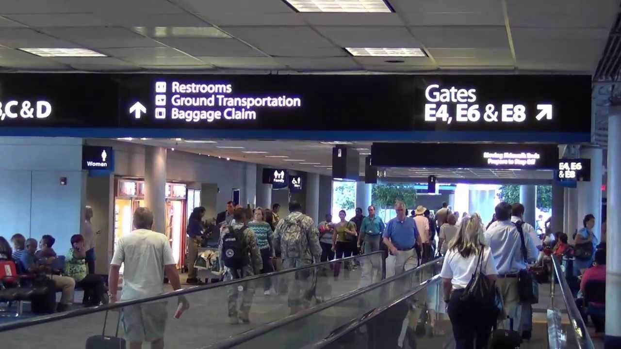 A Tour Of Charlotte Douglas International Airport Clt