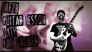 Guitar Tutorial - Zebrahead - Public Enemy Number One w/ Dan Palmer