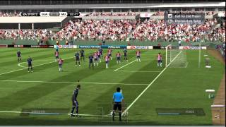 FIFA 11 Gameplay (PS3) - Manchester United vs Chivas