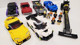 LEGO Speed Champions Summer 2021 Collection Review!