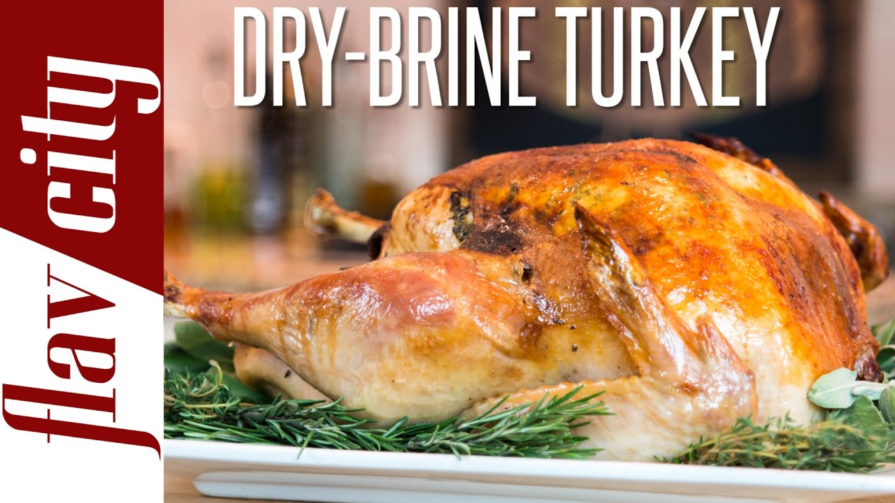 Thanksgiving Turkey Recipe How To Dry Brine Turkey How To Cook
