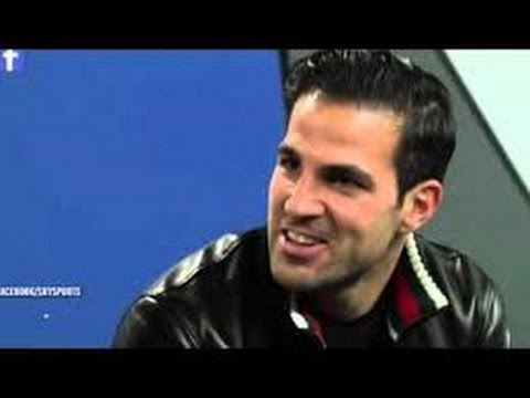 Chelsea's Cesc Fabregas gives incredibly awkward interview ...