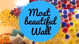 Most beautiful wall in the world | New year room decor | Party decor ideas
