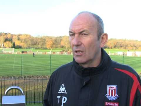 Stoke City Manager Tony Pulis on Tuncay and Blackb...