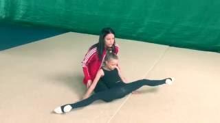 #18 Как растягивать гимнастку