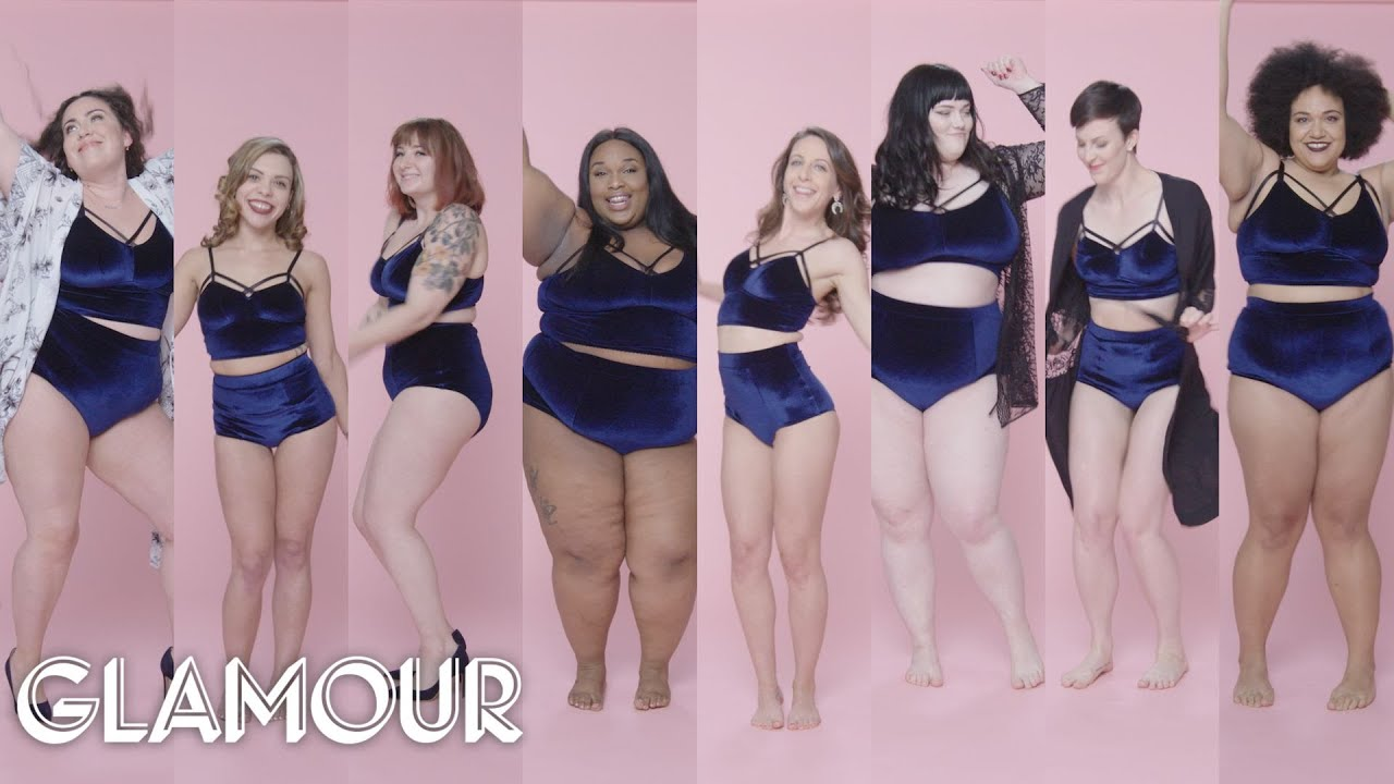 Women Sizes 0 Through 26 on the First Time They Went Lingerie Shopping | Glamour