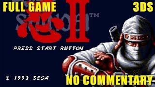 3D Shinobi III - Return of the Ninja Master | Playthrough | 3DS | Full Game