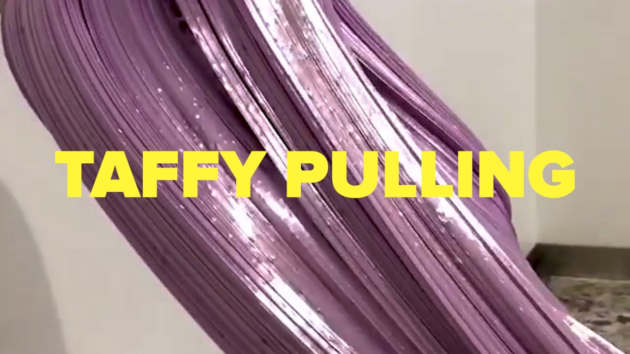 Mesmerizing Taffy Pulling