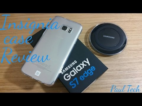 Samsung Galaxy S7 Edge insignia clear case review
