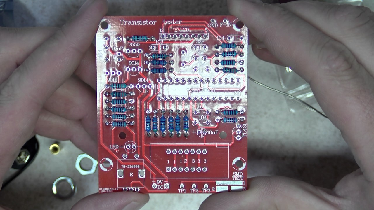 Описание транзистортестера, m 328, kit, tFT