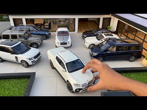 Mini Ultra Luxury Diecast Model Cars Collection 1/18 Scale   Miniature Automobiles