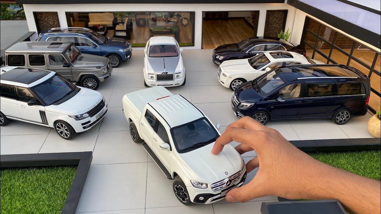 Mini Ultra Luxury Diecast Model Cars Collection 1/18 Scale | Miniature Automobiles