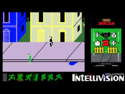 Let's Play:  Intellivision Classics - Dracula