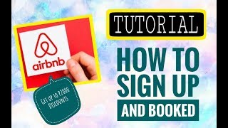 Gambar cover HOW TO SIGN UP and BOOK at AIRBNB?? Discounts??