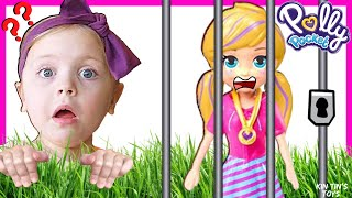 Polly Pockets Scavenger Hunt with Kin Tin!! New Polly Pocket Dolls!