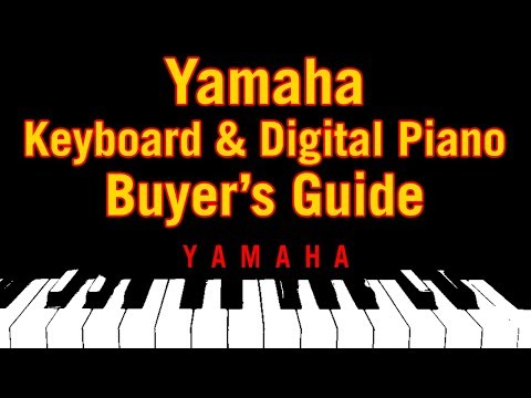 Yamaha Keyboard & Digital Piano Buyer's Guide