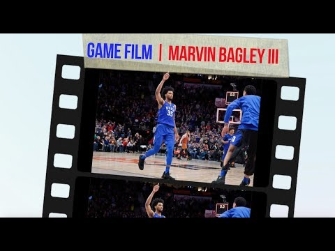 NBA DRAFT JUNKIES | GAME FILM | MARVIN BAGLEY III - OFFENSIVE STRENGTHS