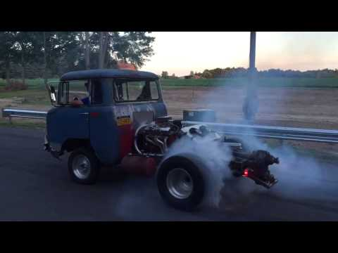 Rear engine rat rod