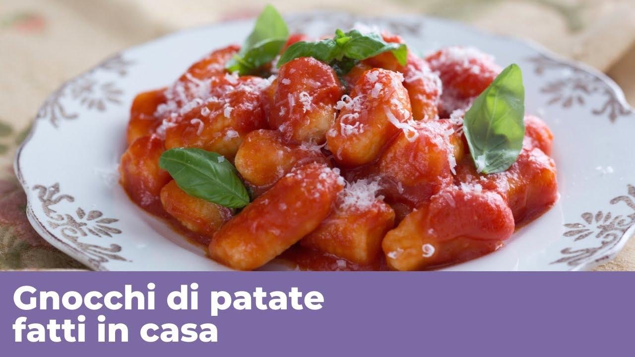 Ricetta Gnocchi Di Patate Cucina Italiana.Video Ricette Cucina Italiana Gnocchi Di Patate Fatti In Casa Ricetta Perfetta Video