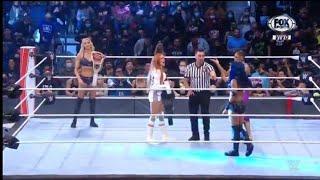 Becky Lynch Charlotte Flair Sasha Banks Bianca Belair se atacan WWE Raw 11 10 2021 Español