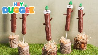 Stick Badge Biscuits - Hey Duggee