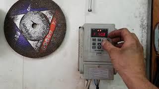 Частотник XSY-AT1 2.2kw установка торможения на токарном станке Тв4