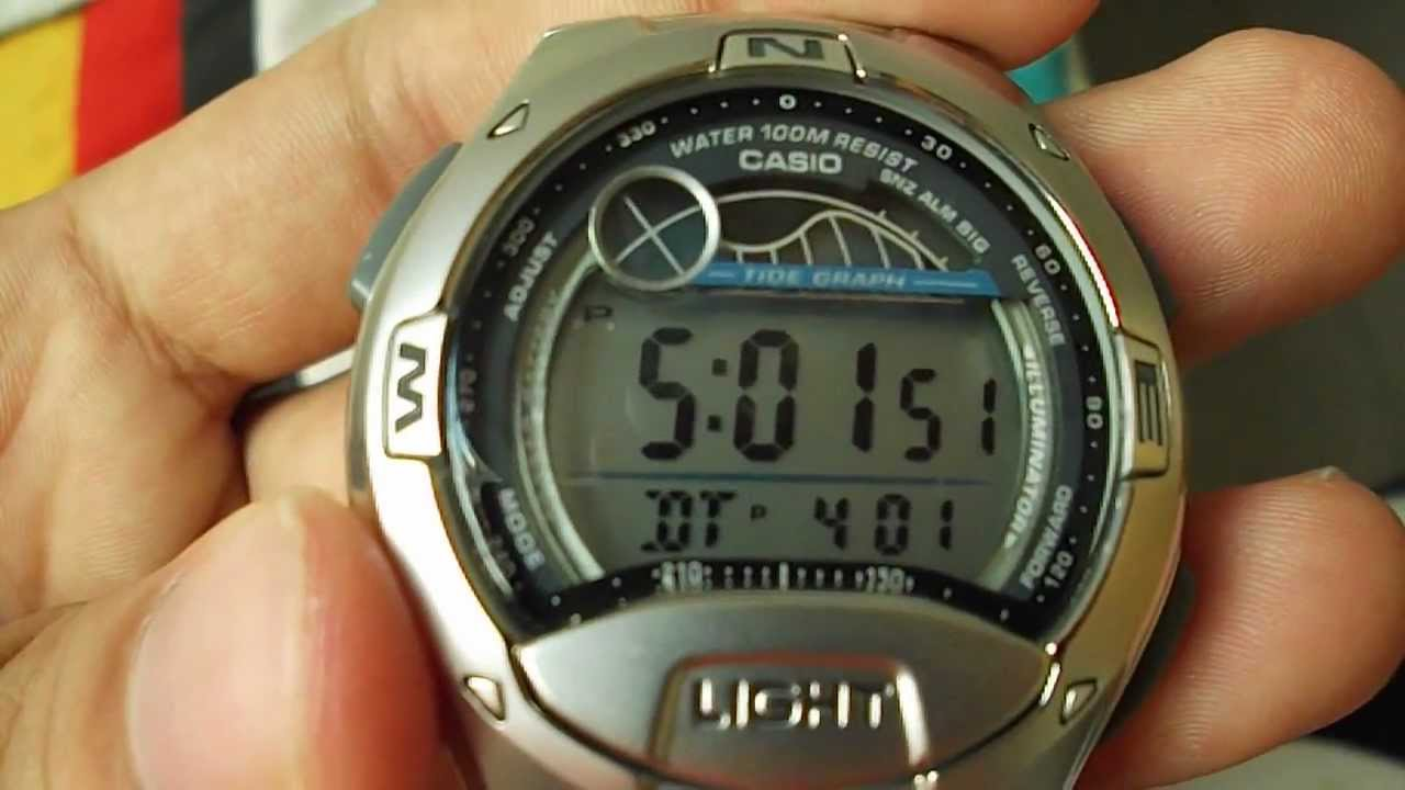 CASIO W 753 YouTube