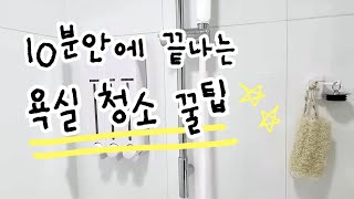 미니멀라이프실천 화장실 청소 10분 안에 끝내기 | 친…