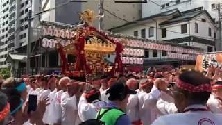【4K】湯島天神例大祭2018「本社神輿渡御 宮出」 thumbnail