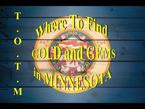 Where To FIND GOLD and RARE GEMS in MINNESOTA!