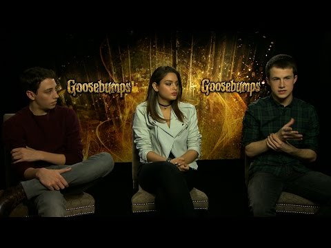 Goosebumps Interview: hmv.com talks to Ryan Lee, Odeya Rush and Dylan Minnette