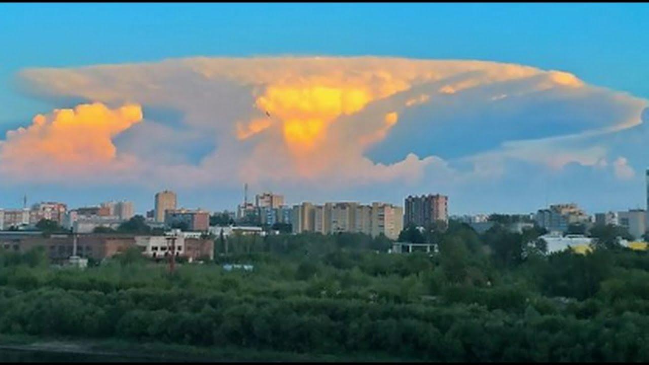 'Chernobyl Sky': Massive Mushroom Cloud Startles Residents ...