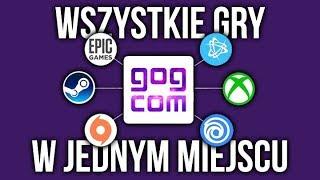 WSZYSTKIE gry w JEDNYM miejscu! GOG GALAXY 2.0 beta
