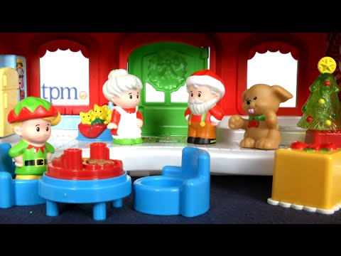 Little People Santa's Cottage From Fisher-Price