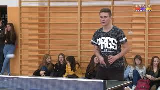 Mistrzostwa Zespołu Szkół w tenisie stołowym (12.01.2018)