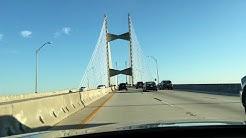 Jacksonville Dames Point Bridge in 4K