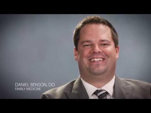 Physician Video Profile: Daniel Benson, DO (Family Medicine)