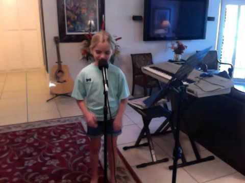 "McKenna Grace  2016 singing ""Imagine"""