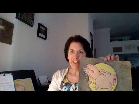 Flying Pig Art Tutorial - YouTube