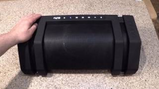 NYNE Rock Wireless Bluetooth BoomBox Speaker Review