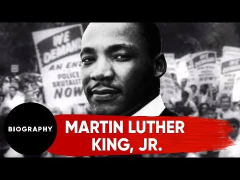 Martin Luther King, Jr. - Mini Bio - YouTube