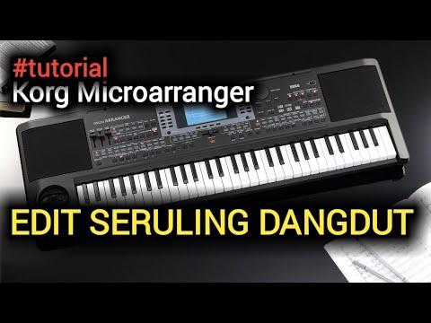 #tutorial #microarranger #pa50 (NON SAMPLING...!!!) edit Suling/Seruling Korg Microarranger